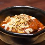自家製パスタ洋食堂 マルブン - 煮込みハンバーグ