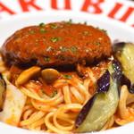 自家製パスタ洋食堂 マルブン - 煮込みハンバーグパスタ