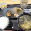 都賀西方パーキングエリア(下り)レストラン・スナックコーナー - 料理写真:朝定食A (さば塩) ¥500-