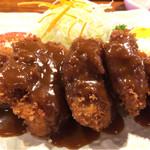 大富士 - 料理写真:ヘレ豚カツ定食
