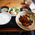 中国菜シンペイ - イベリコ豚の黒酢酢豚セット