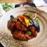 中国菜シンペイ - イベリコ豚の黒酢酢豚
