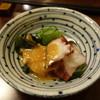 旬乃味 錦 - 料理写真:お通しは蛸のヌタ