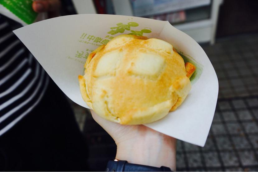 世界で2番目においしい焼きたてメロンパンアイス  竪町店