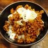 鉢ノ葦葉 - 料理写真:白ご飯+台湾ミンチ