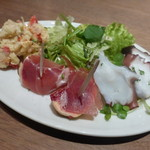 cafe causa - 本日の前菜3種 680円