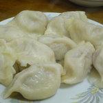 金春本館 - 水餃子(10個・500円)♪味つけはしっかりめです。