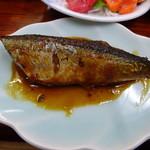 海峡荘 - 秋刀魚の甘露煮
