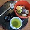 青柳 - 料理写真:餡蜜(あんみつ)、一揃(ひとそろ)ひ