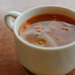 トラットリアヴィアーレ - スープ