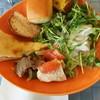 グランカフェ - 料理写真:サラダ、パン、ピザ等