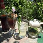 ミーシャのハーブ庭園 ブーケ ダルブル - オーガニックコーラとアイスフレッシュハーブティー