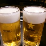 居酒屋 ルビー - ビール1杯 30円(税込)