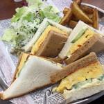 MIYABI cafe & boulangerie - 厚焼きたまごサンド