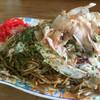 喜和 - 料理写真:焼きそばイカ玉480円
