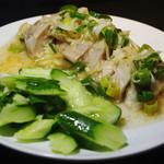 台湾料理 光春 - 塩水鶏(エンスイジー)