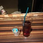 ポルコ カーサ デ ブタヤ - ポークジンジャーランチ、ドリンク付き850円アイスティ
