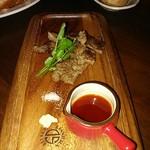 煙 燻製バル トリベーネ - A5ランク燻製和牛ステーキ♪