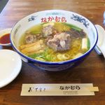 本家なかむら - 料理写真:元祖テールラーメン塩味(1,250円)