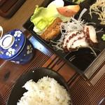 赤丹・小料理屋 - 昼定食^_^ お代わり出来て¥500は安い!