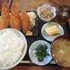 番屋 - 料理写真:アジフライ定食 ¥850-