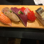 がってん寿司 - 秋の5貫盛り¥600