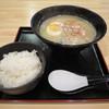 大華 - 料理写真:鶏煮込みそば/ライス無料サービス ※ランチタイムに鶏そば注文時のみ。