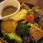 三陸ワイン食堂 LE ALE - 宮城県登米産  日高見牛のサイコロステーキ 1,480円