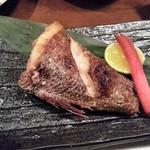 風来坊 - 黒むつ塩焼