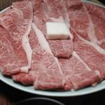 牛銀本店 - 肩ロースとモモ肉