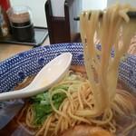鬼そば 藤谷 - 醤油の麺