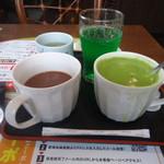 夢庵 - ココアと抹茶オレが美味しい!