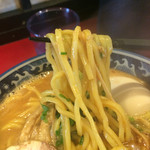 麺匠 佐蔵 - 中太のほぼストレート