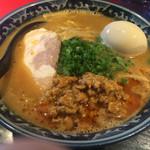 麺匠 佐蔵 - 佐蔵味噌らぁめん味玉トッピング