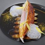 57357614 - 川俣シャモ胸肉/オレンジ