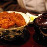 タレカツ - ヒレカツ丼(1000円)