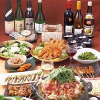 飲み放題付き宴会コースは3000円~多数ご用意しております☆