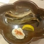 日本酒とおばんざい 北庵 - 氷下魚(こまい)