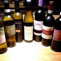 約40種以上のこだわり厳選ワインでお料理をさらに美味しく♪