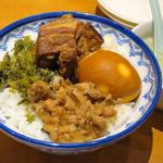 口福館 - 魯肉飯(台湾風肉丼)