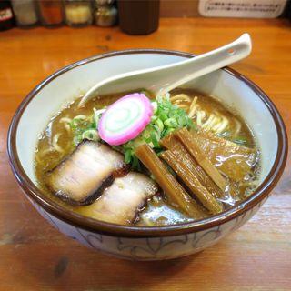 麺屋 高橋 - 料理写真:おさかな正油らーめん(800円)