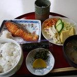 食空間 穂の里 - 料理写真:焼きシャケセット