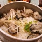 鳥ぎん - 牡蠣釜飯