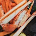 おけしょう鮮魚の海中苑 - 料理写真:殻の中いっぱいに身がぎっしり!しかも甘い☆