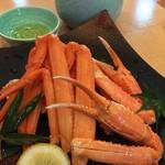 おけしょう鮮魚の海中苑 - 料理写真:湯カニ(香住)時価1,900円~ この日は2,320円