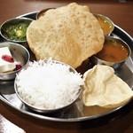 南インド料理ダクシン - ノンベジミールス