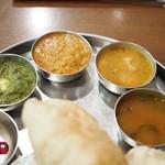 南インド料理ダクシン - カレー部分
