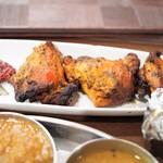 南インド料理ダクシン - タンドリーチキン