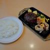 ジョイフル - 料理写真:ペッパーハンバーグ&若どり南蛮とライス