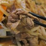味かね食堂 - 生姜焼きの豚肉は薄切りなのに硬い